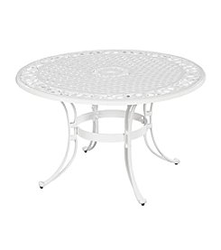 Home Styles® White Finish Biscayne Round Dining Table