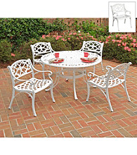 Home Styles® White Finish Biscayne 5-pc Dining Set