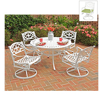 Home Styles® White Finish Biscayne 5-pc Dining Set with