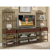 Home Styles® St. Ives Cinnamon Cherry Finish Entertainment Center Collection