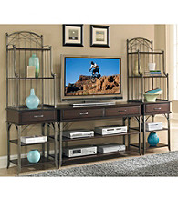 Home Styles® Bordeaux Espresso Finish Entertainment Center Collection