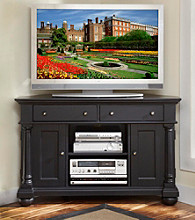 Home Styles® St. Croix Black Corner TV Stand