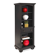 Home Styles® St. Croix Black Audio Cabinet