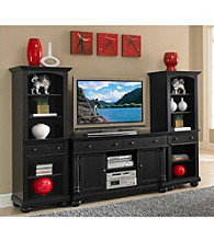 Home Styles® St. Croix Black 3-pc.Entertainment Set