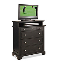 Home Styles® Bedford Black Finish TV Media Chest