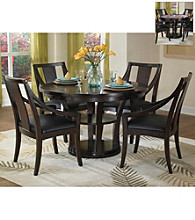 Home Styles Rio Vista Espresso Game Table Collection