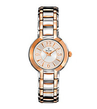 Bulova® Women's Two-Tone Stainless Steel Watch