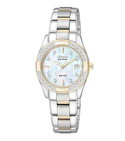 Citizen® Eco-Drive Two-Tone Regent Women's Watch
