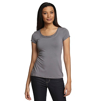 Cable & Gauge® Sequined Top