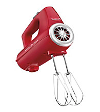 Cuisinart® Power Select 3-Speed Red Hand Mixer