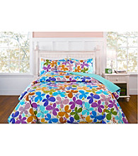 Flutterfly Quilt Set by LivingQuarters Kids