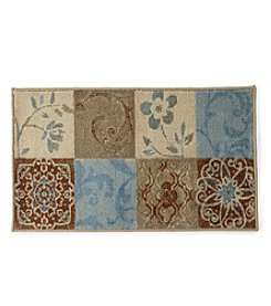 Bacova® Uncarved Studios Paradise Blue Accent Rug