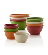 Eco Life™ Set of 4 Multicolored Round Rice Hull Bowls