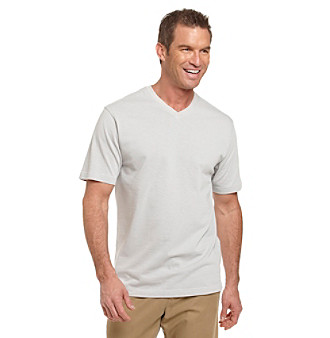 Kenneth Roberts Platinum® Men's Micro Stripe V-Neck Tee