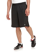Champion Men's Double Dry® Solid Black Fitted Shorts