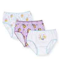 Disney Princess® Girls' 2T & 4T 3-Pair Panty Pack
