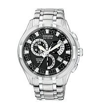 Citizen® Eco-Drive Caliber 8700 Stainless Retrograde Calendar Men's Watch