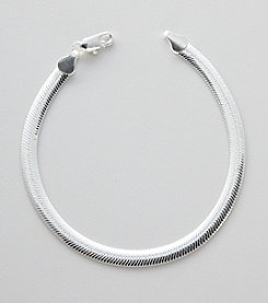 Silver 100 Magic Oval Chain Bracelet