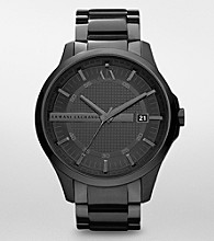 A|X Armani Exchange Men's Black Bracelet Watch