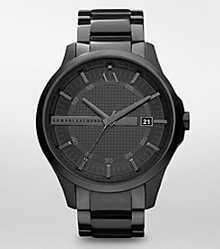 A|X Armani Exchange Men's Black Bracelet Watch