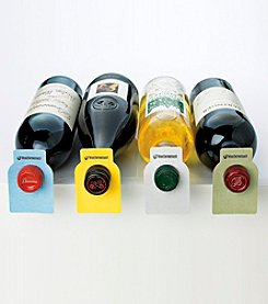 Wine Enthusiast 100 Color Coded Wine Bottle Tags