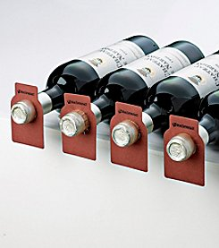 Wine Enthusiast Classic Mahogany Bottle Tags (Set of 100)