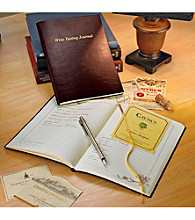 Wine Enthusiast Bonded Leather Wine Tasting Journal