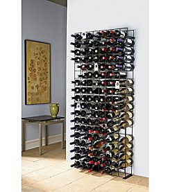 Wine Enthusiast 144-Bottle Black Tie Grid