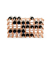 Wine Enthusiast Modular 40 Bottle Wine Rack (Natural)