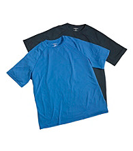 Harbor Bay® Men's Big & Tall Swim Rash Guard