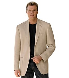 Oak Hill® Men's Big & Tall Linen Suit Jacket