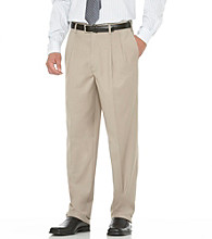 Savane® Men's Relaxed Fit Pleated Gabardine Dress Pant