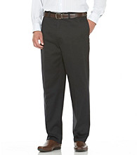 Savane® Men's Flat Front Performance Chino Dress Pants