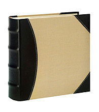 Burnes of Boston® Maestro Black & Cream Photo Album