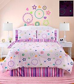 Veratex® Star Dance Glow in the Dark Comforter Set