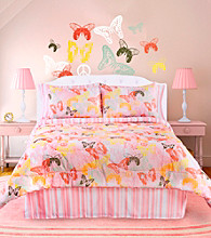 Butterflies Are Free Comforter Set by Veratex®