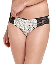 Zoe & Bella @ BT Lace Bikini Briefs - Heart Vine