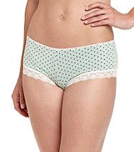 Zoe & Bella @ BT Cheeky Girlshorts - Mini Heart Dot