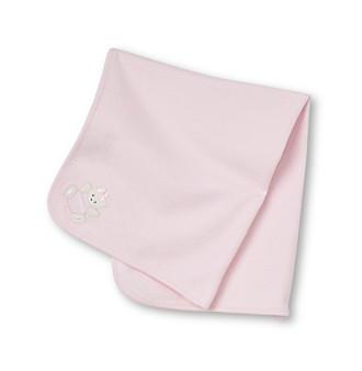 Little Me® Baby Girls' Pink Bear Blanket