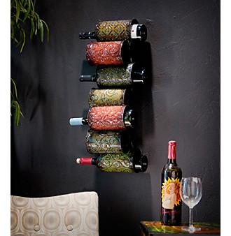 Holly & Martin™ 7-Bottle Soledad Wall-Mount Wine Storage