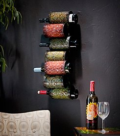 Holly & Martin™ 7-Bottle Soledad Wall-Mount Wine Storage