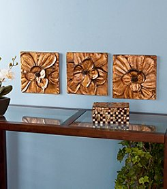 Southern Enterprises Oleander 3-pc. Wall Panel Set