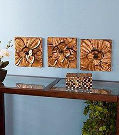 Southern Enterprises Oleander 3-pc. Wall Panel Set