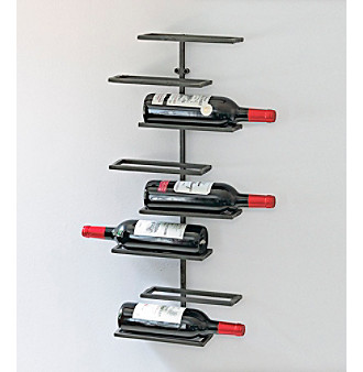 Wine Enthusiast 8-Bottle Urban Wall Wine Rack