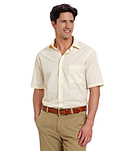 Van Heusen® Men's Yellow Stripe Dress Shirt