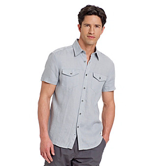 Kenneth Cole New York® Men's Linen Shirt