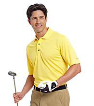 Izod® Men's Poly Solid Grid Polo