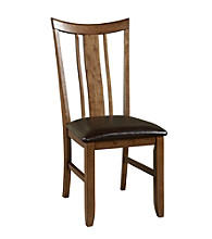 Powell® Café Tiburon Set of 2 American Walnut Side Chairs