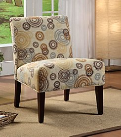 Acme Aberly Rainbow Circled Accent Chair