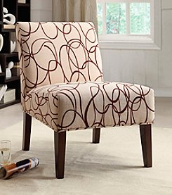 Acme Aberly Curvy Accent Chair